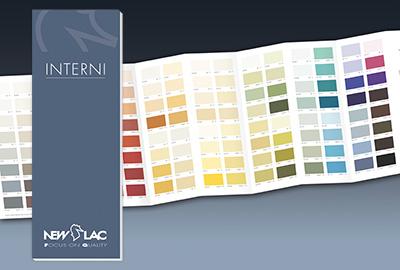New lac s.r.l. cartella colori interni